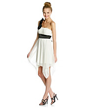 Trixxi® Juniors' Ivory Dress