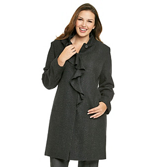 DKNY JEANS® Plus Size Ruffle-Front Walker