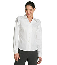 Evan-Picone® Washable Easy-Care Woven Shirt