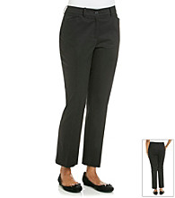 Jones New York Signature Petites' Ankle Twill Pant 27