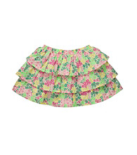 OshKosh B'Gosh® Girls' 2T-4T Yellow Floral Print Skort
