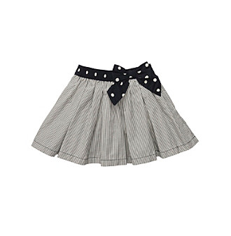 OshKosh B'Gosh® Girls' 4-6X Navy/White Striped Woven Skort