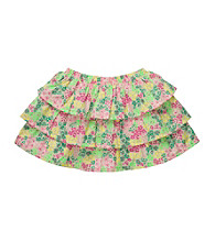 OshKosh B'Gosh® Girls' 4-6X Yellow Floral Print Skort