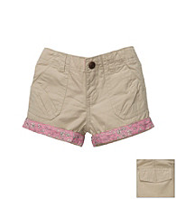 OshKosh B'Gosh® Girls' 2T-4T Khaki Woven Shorts