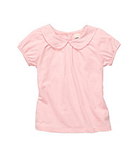 OshKosh B'Gosh® Girls' 2T-4T Pink Short Sleeve Eyelet Polo