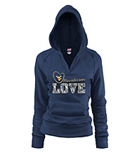 Soffe® Juniors' West Virginia Love Hoodie