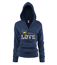 Soffe® Juniors' University Michigan Love Hoodie