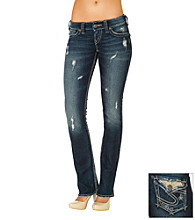 Silver Jeans Co. McKenzie Straight Fit Low-Rise Bootcut Jeans