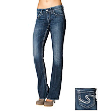 Silver Jeans Co. Aiko Slightly Curvy Fit Mid-Rise Bootcut Jeans