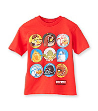 Angry Birds™ Boys' 4-20 Red Short Sleeve Star Wars Tee