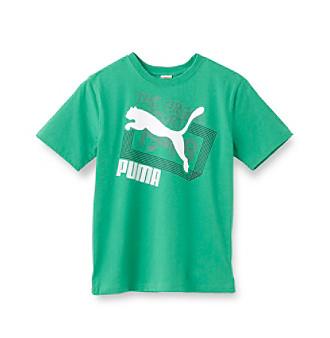 PUMA® Boys' 8-20 Short Sleeve Lines Tee
