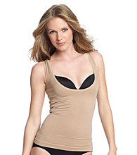 Skinnygirl® by Bethenny Frankel Get the Scoop! Wear Your Own Bra Camisole - Café