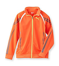 PUMA® Boys' 8-20 Orange Cell Dry Strong Track Jacket