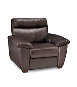 Softaly Dark Brown Leather Mountain Chair