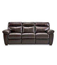 Softaly Mountain Leather/Match Sofa