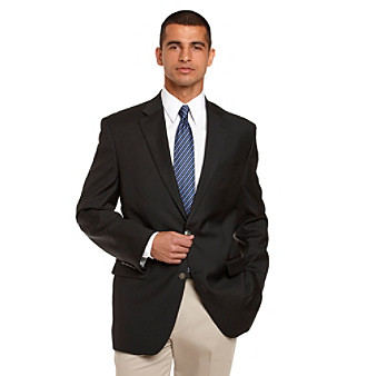 Michael Kors® Men's Black Big & Tall Blazer