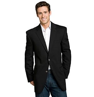 Calvin Klein Men's Black Big & Tall Blazer