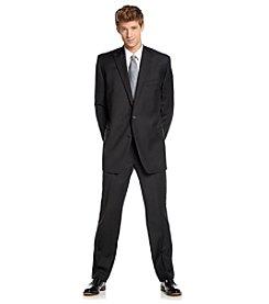 Lauren Ralph Lauren Men's Big & Tall Black Suit Separates