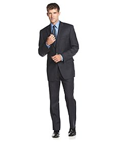 Lauren Ralph Lauren Men's Big & Tall Navy Plaid Suit Separates