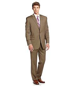 Lauren Ralph Lauren Men's Big & Tall Tan Suit Separates