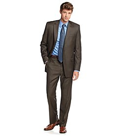 Lauren Ralph Lauren Men's Big & Tall Olive Suit Separate