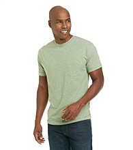 Ruff Hewn Men's Short Sleeve Striped Crew Neck Tee