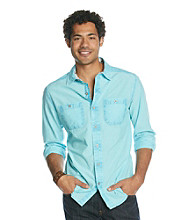 Mambo® Men's Long Sleeve Chambray Shirt