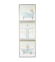 Star Creations Lacey Tubs and Sinks Wall Art