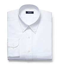 Izod® Men's Big & Tall White Long Sleeve Dress Shirt