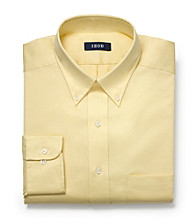 Izod® Men's Big & Tall Yellow Long Sleeve Dress Shirt