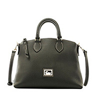 Dooney & Bourke® Black/Black Dillen II Crossbody Satchel