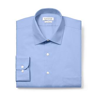 Van Heusen® Men's Blue Crystal Big & Tall Long Sleeve Dress Shirt