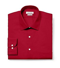 Van Heusen® Men's Red Big & Tall Long Sleeve Dress Shirt