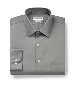 Van Heusen® Men's Gray Big & Tall Dress Shirt