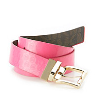 MICHAEL Michael Kors® 38mm Specchio Monogram Belt