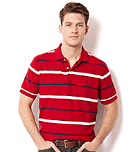 Nautica® Men's Stripe Short Sleeve Polo