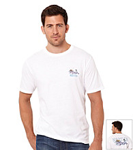 Nautica® Men's Bright White Marlin Short Sleeve Tee