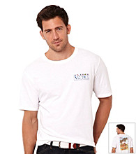 Nautica® Men's Bright White Short Sleeve Tee