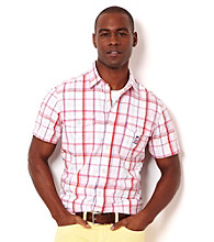 Nautica® Men's Parfait Pink Short Sleeve Woven