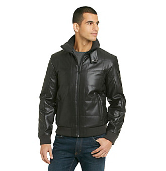 Calvin Klein Men's Black Quilted Jacket