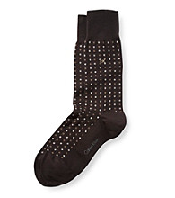 Calvin Klein Men's Mini Dot Crew Sock