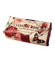 Simple Pleasures Vanilla Rose Wrapped Bath Soap