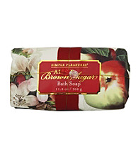 Simple Pleasures Vintage Fruit Apple Brown Sugar Wrapped Bath Soap