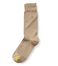 GOLD TOE® Men's Micro Dots Crew Socks