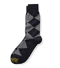 GOLD TOE® Men's Argyle Crew Socks