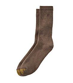 GOLD TOE® Men's Single Uptown Crew Socks