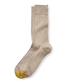 GOLD TOE® Men's Soft Touch Crew Socks