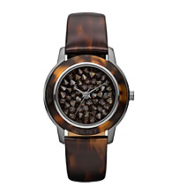 DKNY® Brown/Tortoise Park Avenue Watch