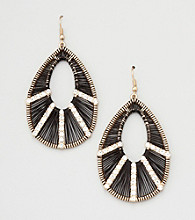 Erica Lyons® Spectrum Teardrop Pierced Earrings