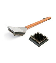 Charcoal Companion® Big Head® Grill Brush with Replacement Head